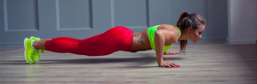 Tips voor een beter push-up schema