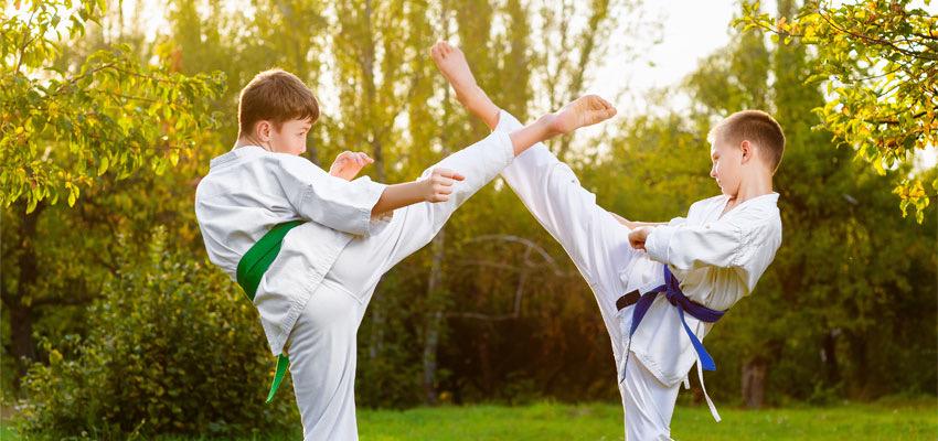 Vechtsport voor kinderen, een goed idee?